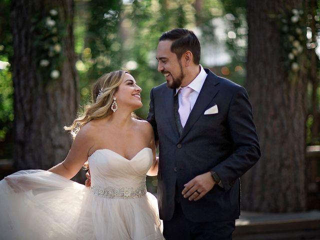 The wedding of Tara and Robby