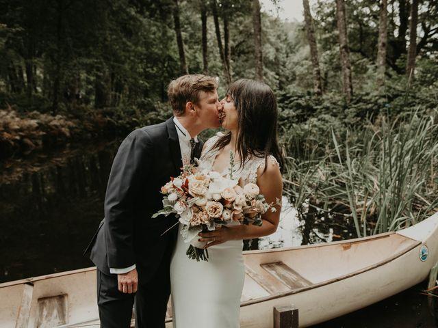 The wedding of Amber and David