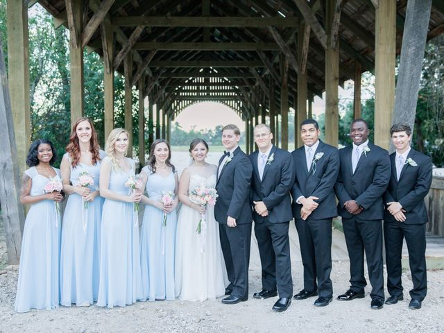 Miranda and Matthew's Wedding in Montgomery, Texas 19
