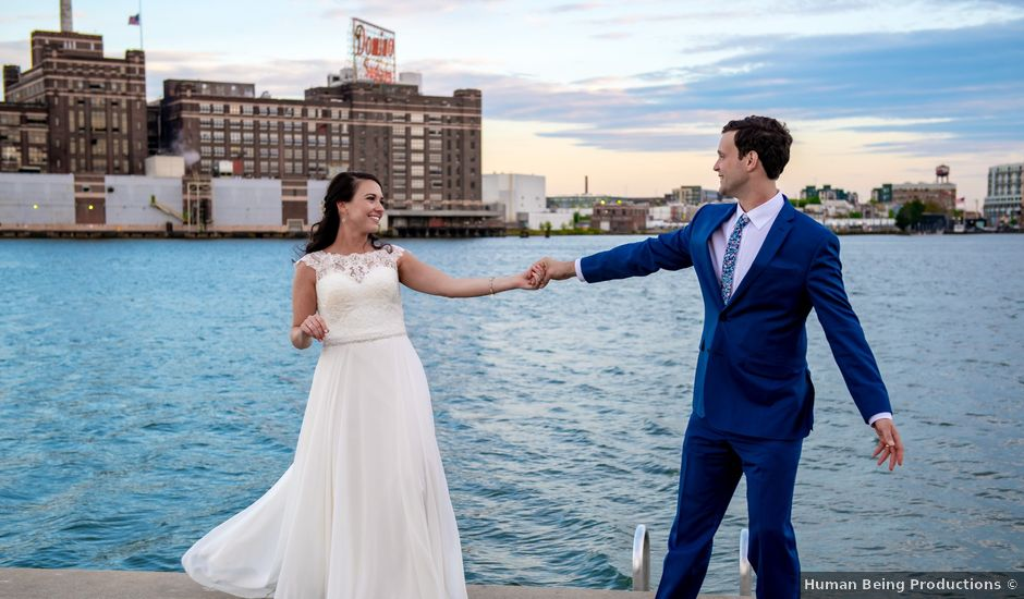 Brian and Lucy's Wedding in Baltimore, Maryland