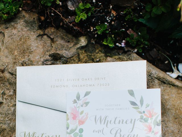Whitney and Beau's Wedding in Guthrie, Oklahoma 2