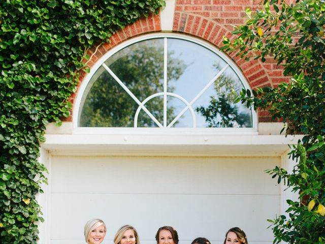 Whitney and Beau's Wedding in Guthrie, Oklahoma 9