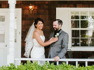 The wedding of Tiffany and Chris