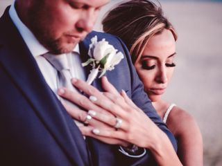 The wedding of Amanda and James