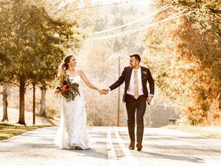 The wedding of Katie and Matthew