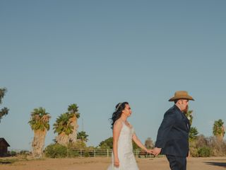 The wedding of Maggie and Saul