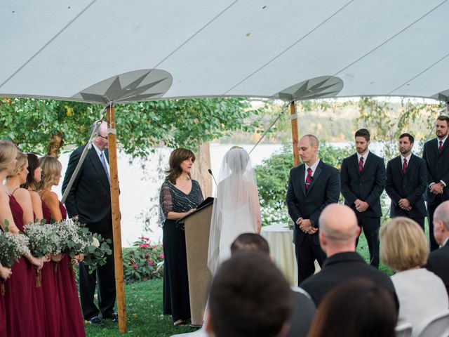 Zac and Kelsey's Wedding in Meredith, New Hampshire 20