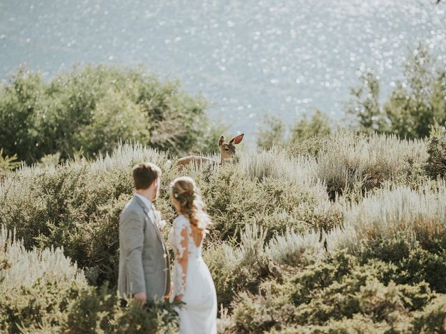 Chris and Olivia's Wedding in Mammoth Lakes, California 7