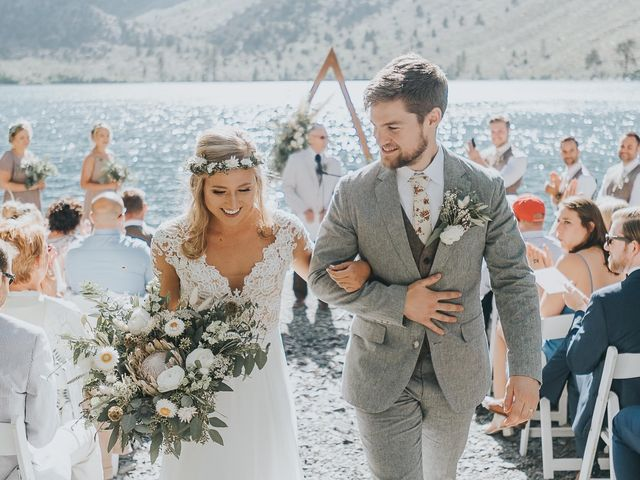 Chris and Olivia's Wedding in Mammoth Lakes, California 14