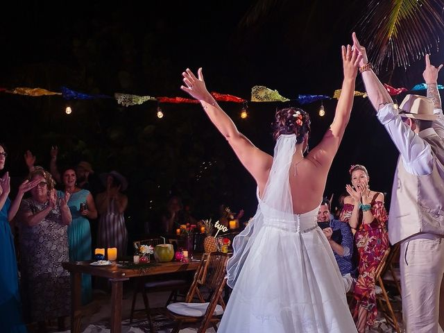 Mike and Brooke's Wedding in Tulum, Mexico 4