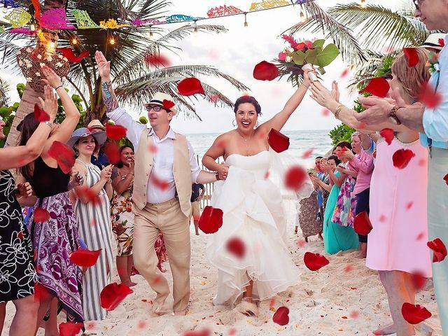 Mike and Brooke's Wedding in Tulum, Mexico 1
