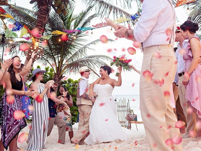 Mike and Brooke's Wedding in Tulum, Mexico 15