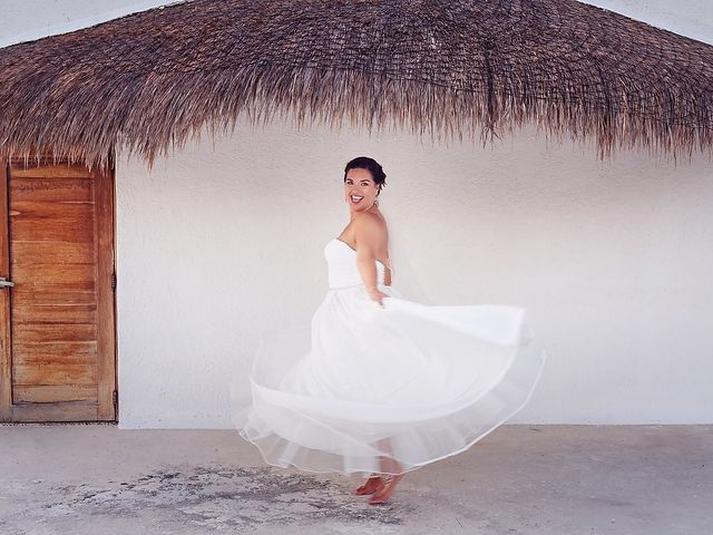 Mike and Brooke's Wedding in Tulum, Mexico 17
