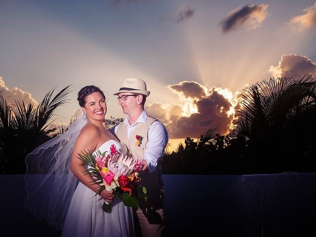 Mike and Brooke's Wedding in Tulum, Mexico 19