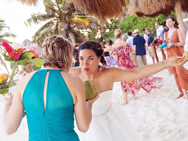 Mike and Brooke's Wedding in Tulum, Mexico 23