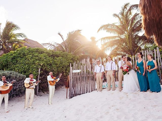 Mike and Brooke's Wedding in Tulum, Mexico 28