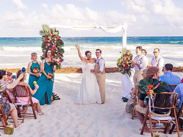 Mike and Brooke's Wedding in Tulum, Mexico 29