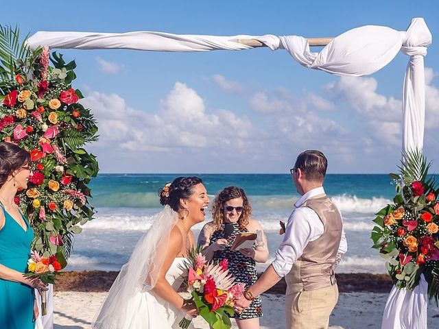 Mike and Brooke's Wedding in Tulum, Mexico 34