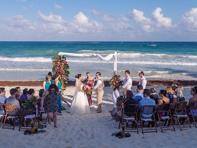 Mike and Brooke's Wedding in Tulum, Mexico 35