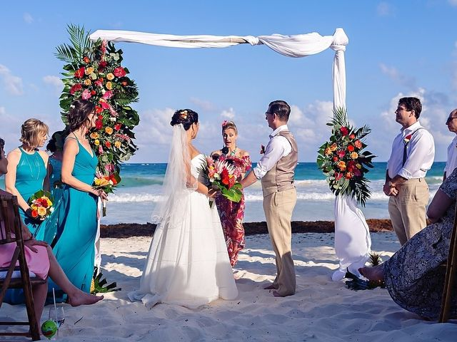 Mike and Brooke's Wedding in Tulum, Mexico 37