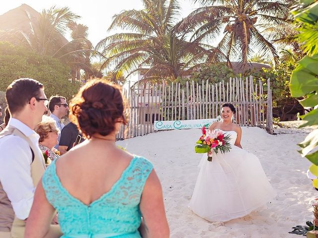Mike and Brooke's Wedding in Tulum, Mexico 39