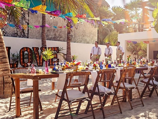 Mike and Brooke's Wedding in Tulum, Mexico 41