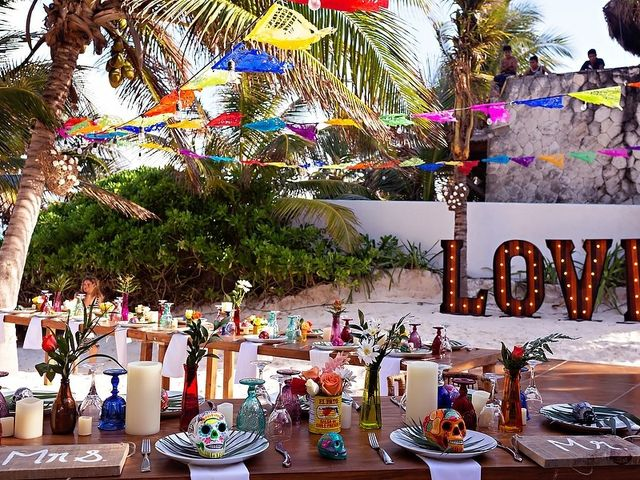 Mike and Brooke's Wedding in Tulum, Mexico 43