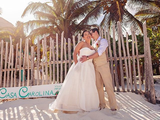 Mike and Brooke's Wedding in Tulum, Mexico 49