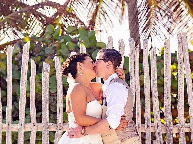 Mike and Brooke's Wedding in Tulum, Mexico 50