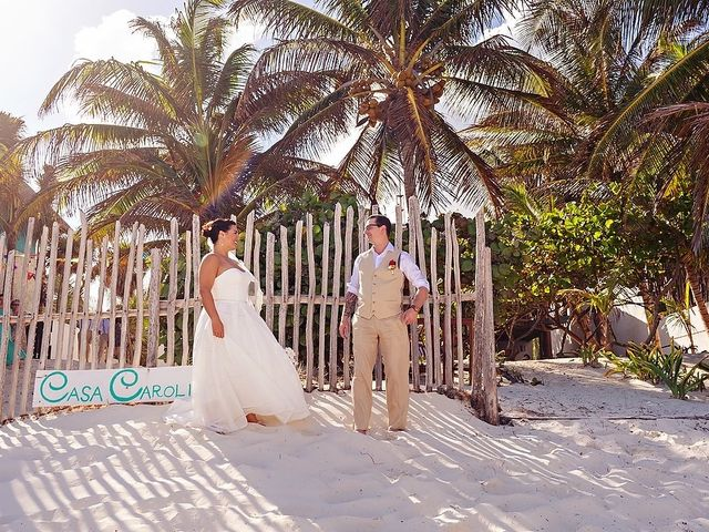 Mike and Brooke's Wedding in Tulum, Mexico 51
