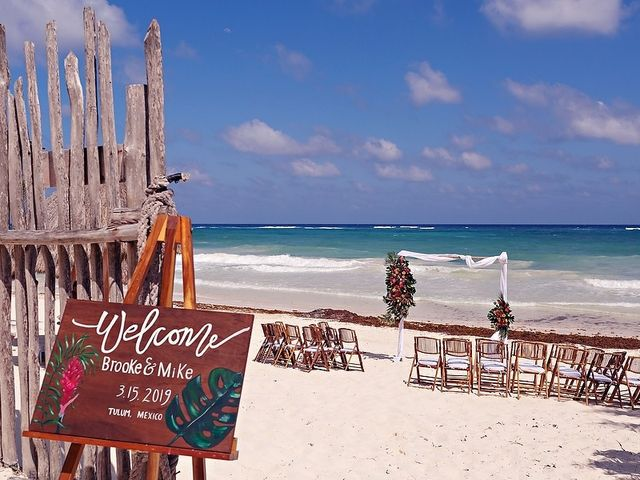 Mike and Brooke's Wedding in Tulum, Mexico 68