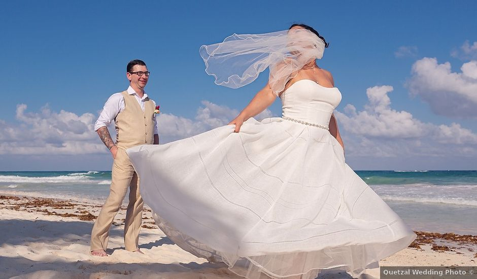 Mike and Brooke's Wedding in Tulum, Mexico