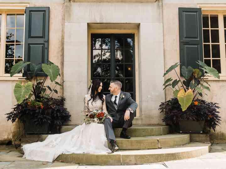 The wedding of Elise and Daniel