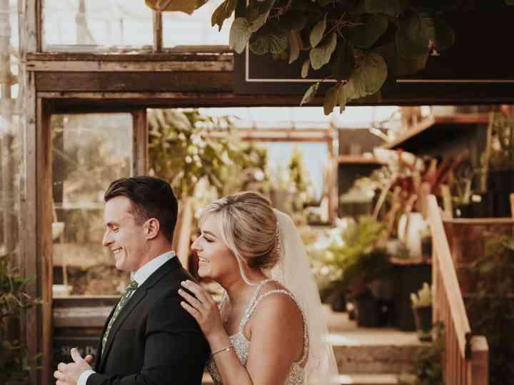 The wedding of Riley and Garrett