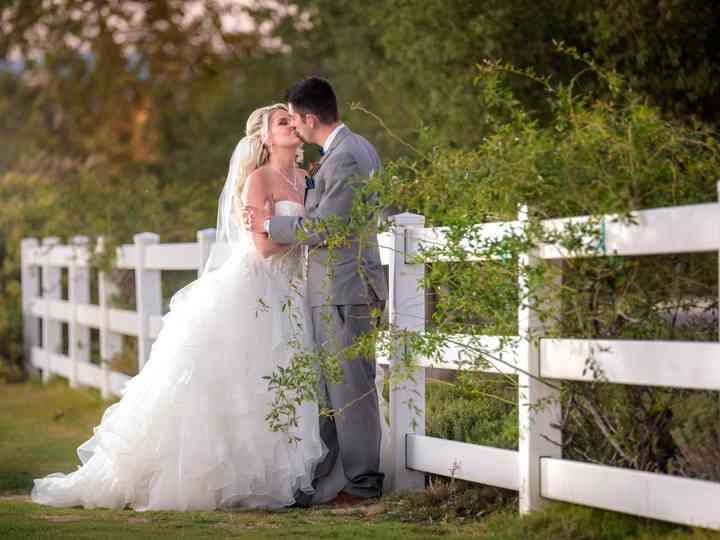 The wedding of Brittney and Brandon