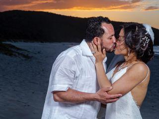 The wedding of Jennika and Humberto