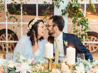 The wedding of Mollie and Andrew