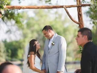Rosalyn and Aaron's Wedding in Santa Fe, New Mexico 17