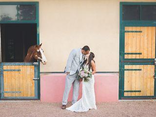 Rosalyn and Aaron's Wedding in Santa Fe, New Mexico 21