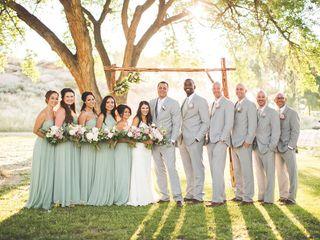 Rosalyn and Aaron's Wedding in Santa Fe, New Mexico 26