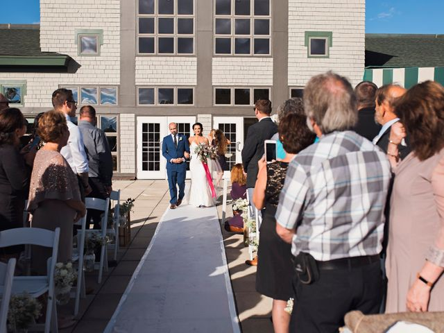 Paul and Lindsi's Wedding in Falmouth, Maine 7