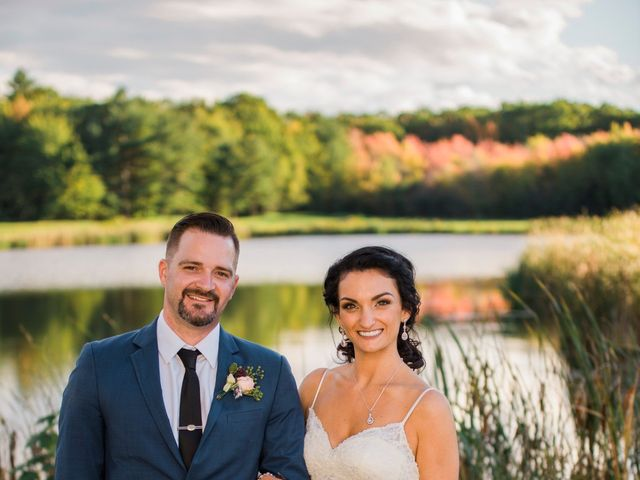 Paul and Lindsi's Wedding in Falmouth, Maine 8