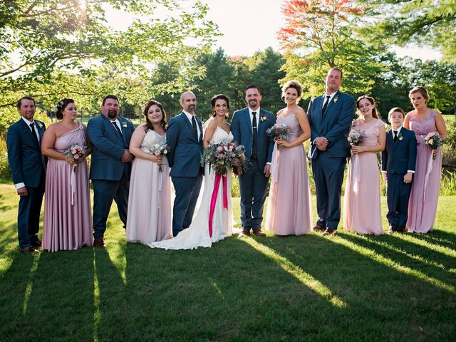 Paul and Lindsi's Wedding in Falmouth, Maine 9