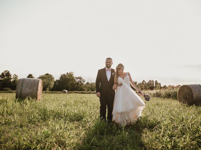 The wedding of Valentina and Claudio