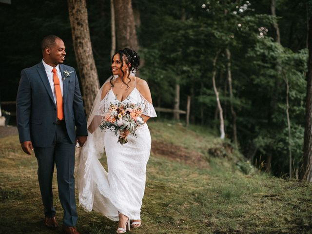 The wedding of Melissa and Jaquion