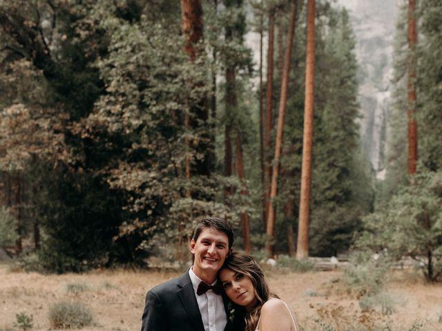Dallas and Madison's Wedding in Yosemite National Park, California 3