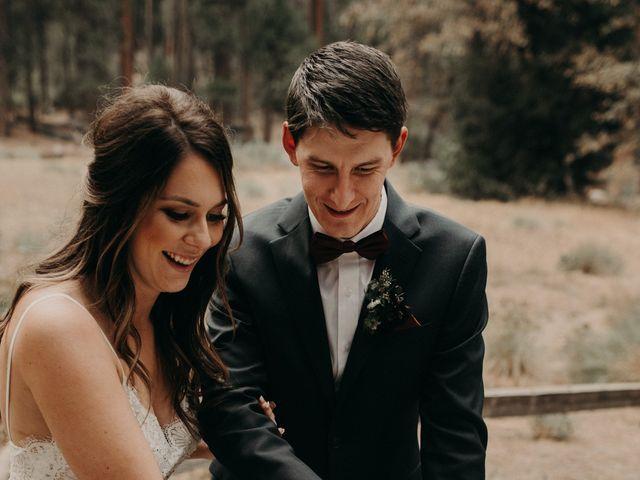 Dallas and Madison's Wedding in Yosemite National Park, California 6