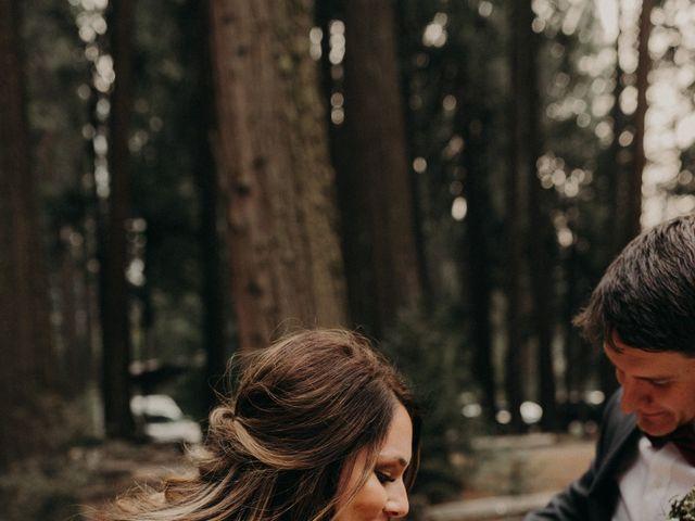 Dallas and Madison's Wedding in Yosemite National Park, California 11