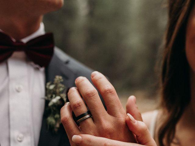 Dallas and Madison's Wedding in Yosemite National Park, California 13