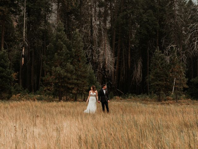 Dallas and Madison's Wedding in Yosemite National Park, California 25
